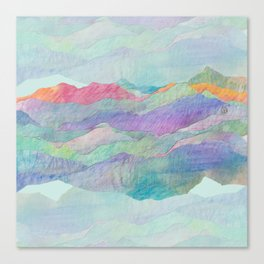 Everything Beautiful- Mountain Canvas Print