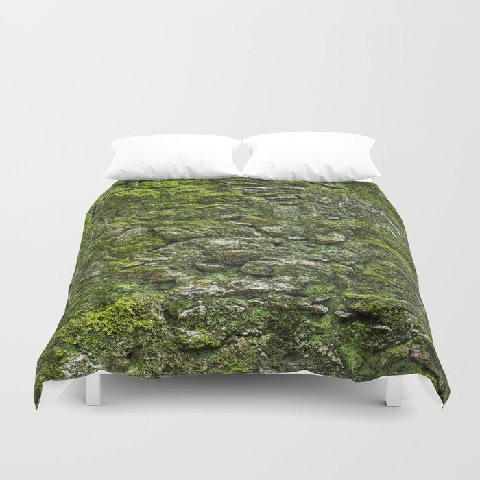 Green wall Duvet Cover