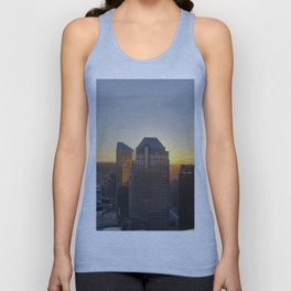 downtown view Unisex Tank Top