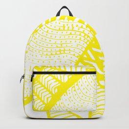 Free Hand Zesty Lemon Doodle Design Backpack