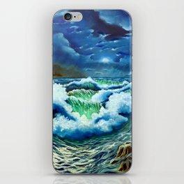 Moonlit Sea iPhone Skin