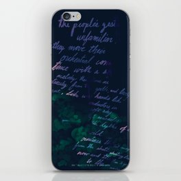 """""""Conquest of the Useless"""" by Werner Herzog Print (v. 10) iPhone Skin"""