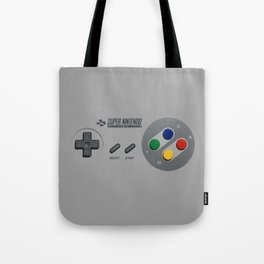 Classic Nintendo Controller Tote Bag