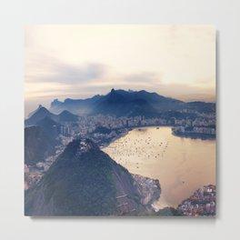 Rio Sequence 1/3 Metal Print