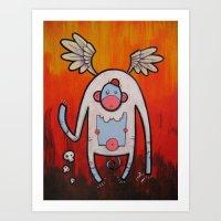 doom Art Prints featuring Doom by Matt Sinor