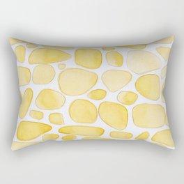 Yellow Saffron Rectangular Pillow