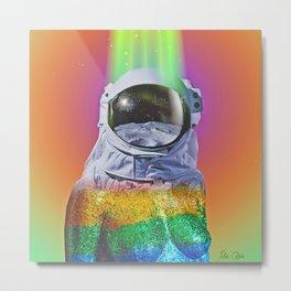 Spectrum Space Metal Print