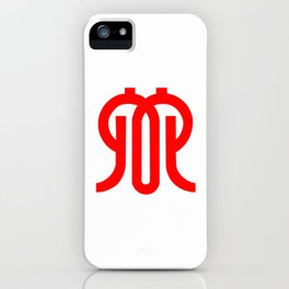 flag of kanagawa iPhone Case