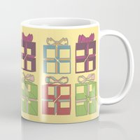 gift card Mugs featuring Gift by Robert Leyen