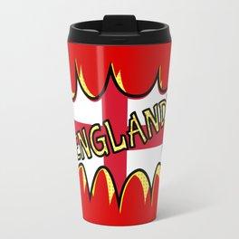 Flag of England POW star Travel Mug