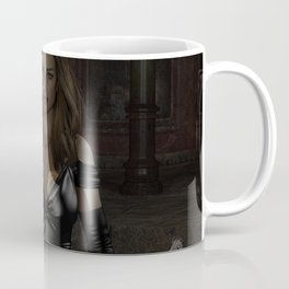 A Girl & Her Dragon Coffee Mug