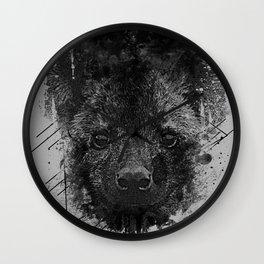 Young Predator Wall Clock