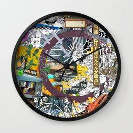 Pop UP - THREE Wall Clock