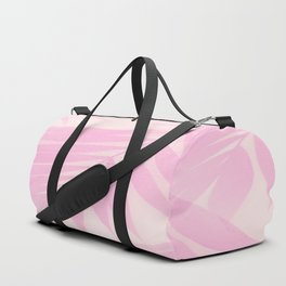 Palm Leaves in Pink Shades #Society6 #decor #buyart Duffle Bag