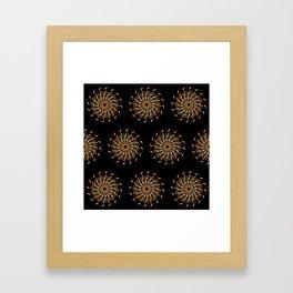 Night Traffic 2 Framed Art Print