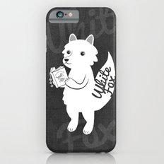 White Fox iPhone 6s Slim Case