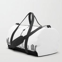 Toronto Skyline - Black Base Duffle Bag