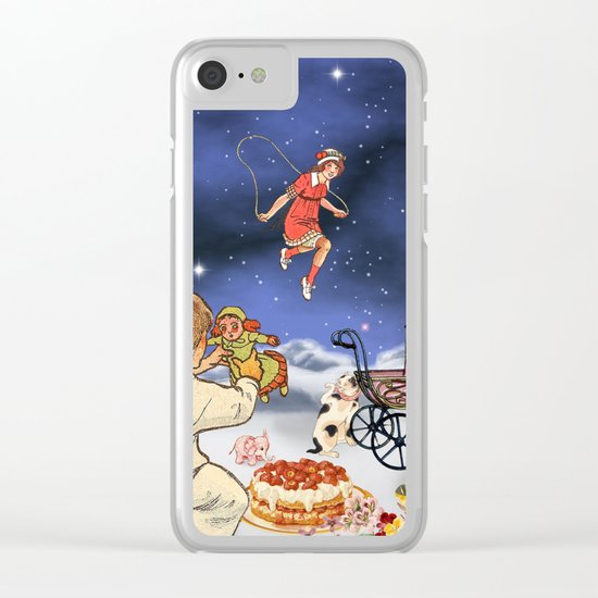 TOYLAND Clear iPhone Case