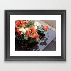 Faked Framed Art Print