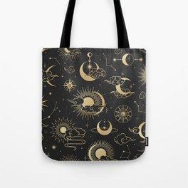 Astronomy Stars Tote Bag