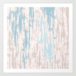 Blue Colors Gradient pattern. pastel, modern, decor, Society6 Art Print