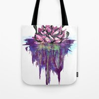 abyss Tote Bags featuring Abyss by Corbin Kosak