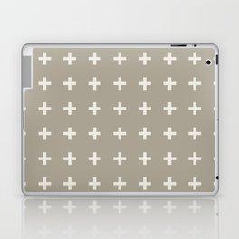 Gray Grey Alabaster Plus Laptop & iPad Skin