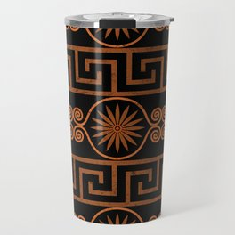 Ornate Greek Bands Travel Mug