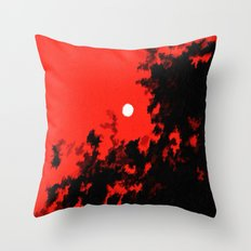 Red and Black Throw Pillow