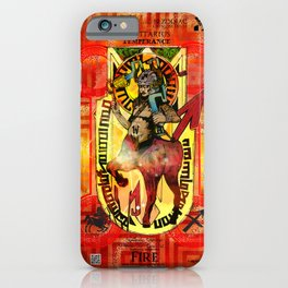 "Ars Tarot of the 12 Zodiac: ""Sagittarius - Temperance"" iPhone Case"