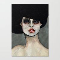three of the possessed Canvas Prints featuring Possessed by Lisa Kelsall
