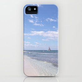Stranded on Paradise iPhone Case