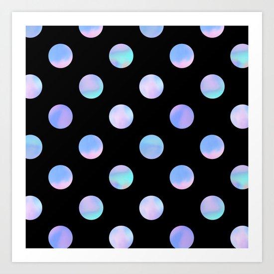 Dreaming Of Polka Dots Art Print