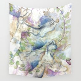 Don't Stumble Over Your Own Feet Wall Tapestry