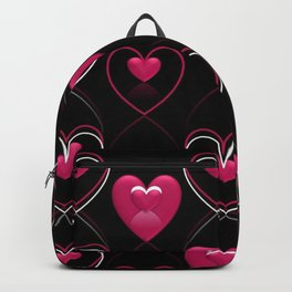 Ornament of Hearts Backpack