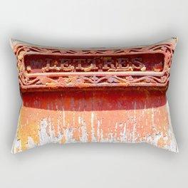 Lettres Rectangular Pillow