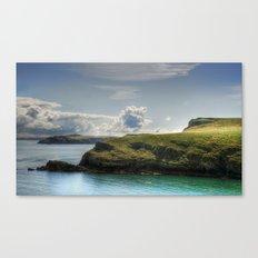 Skomer Island Canvas Print