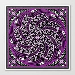 Wind Spirit (Purple) Canvas Print