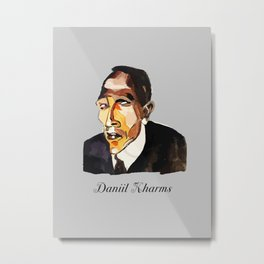 Daniil Kharms - I Metal Print