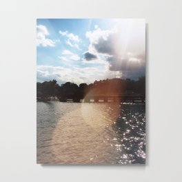Lakefront Metal Print