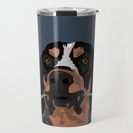 Cooper Bluetick coonhound Travel Mug