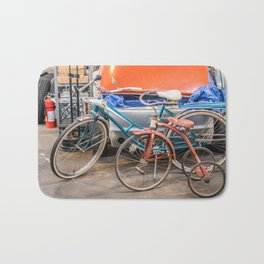 Bikes Bath Mat
