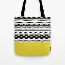 AZTEC AND CHARTREUSE Tote Bag
