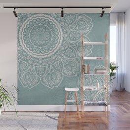 Mandala of Blue Dreams Wall Mural