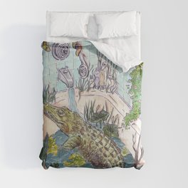 Crocodile in the Tub Comforters