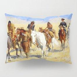 "Frederic Remington Art ""Pony Tracks In the Buffalo Trail"" Pillow Sham"