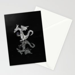 """""""Reflections""""  - Silver Dragon Stationery Cards"""