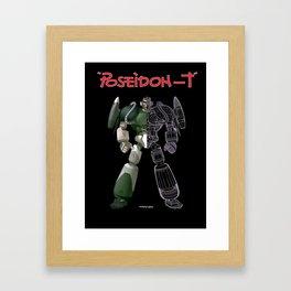 poseidon T Framed Art Print