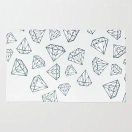 Diamond Shower Rug