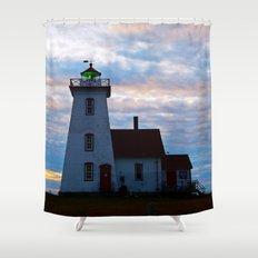 green beacon lighthouse